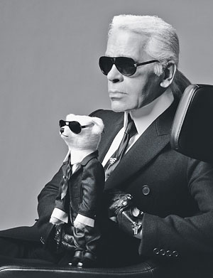 Karl Lagerfeld Courtesy Photo