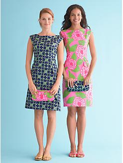 Talbots Stretch Sateen Dress