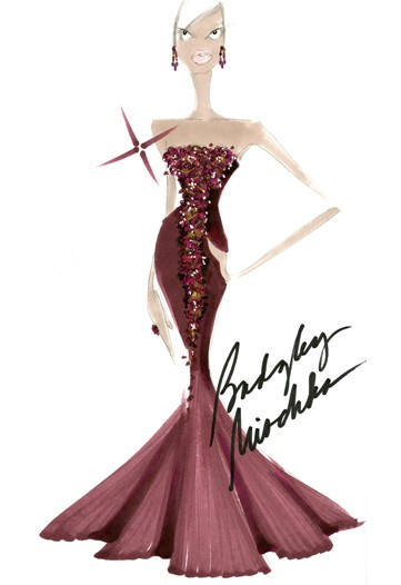 Badgley Mischka via WWD
