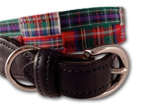 Stewart Dog Collar at PreppyPrincess.com