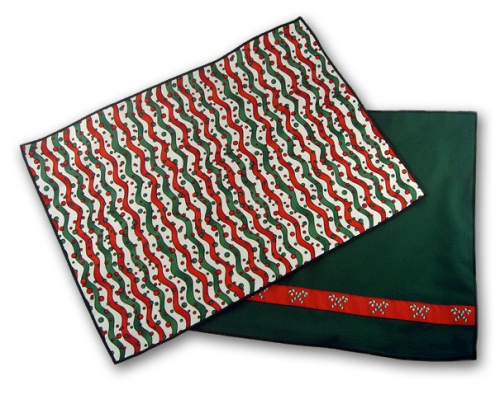 Candy Cane Placemat
