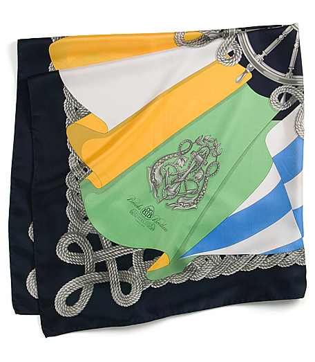 Brooks Brothers Nautical Scarf