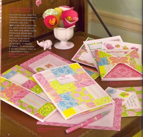 Lilly Pulitzer Mix & Math Stationery