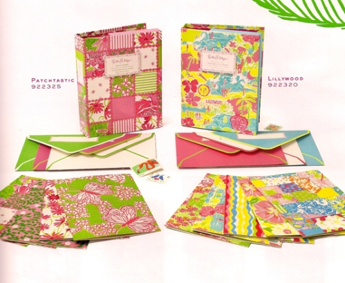 Lilly Pulitzer Note Card Books at PreppyPrincess.com
