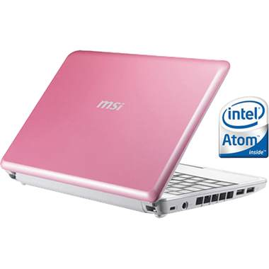 MSI Microstar Windbook in Pink