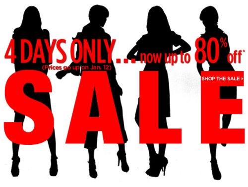 Saks Designer Sale