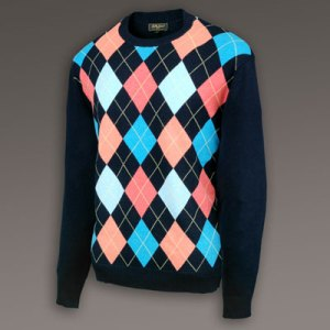 Bobby Jones Four Seasons Argyle Crew