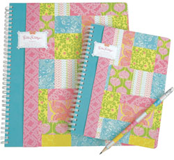 Lilly Pulitzer Notebooks at Preppy Princess