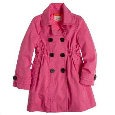 J Crew Girls' Katy Trench