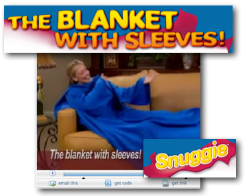 Courtesy Snuggie.com