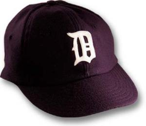 1935 Detroit Tiger game cap