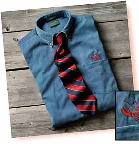 Lobsterline Courtesy David Wood Clothiers