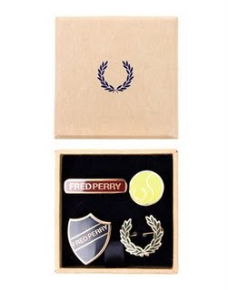 Fred Perry Preppy Pin Badges