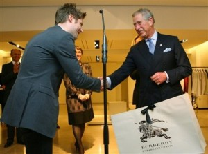Britain Burberry Royal Visit