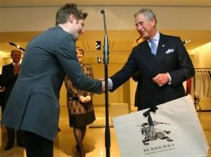Britain Burberry Royal Visit