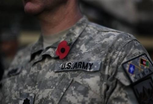 Afghanistan US Veterans Day