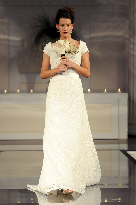 Lilly Pulitzer wedding gown