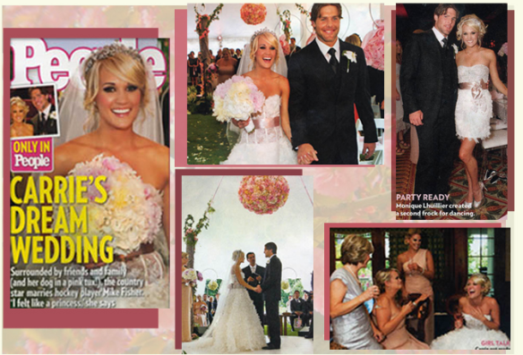 Carrie Underwood Wedding Gown The Preppy Princess