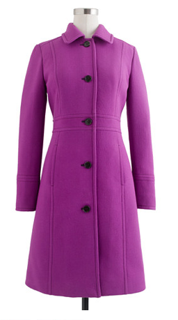 J. Crew Double-cloth Lady Coat with Thinsulate®