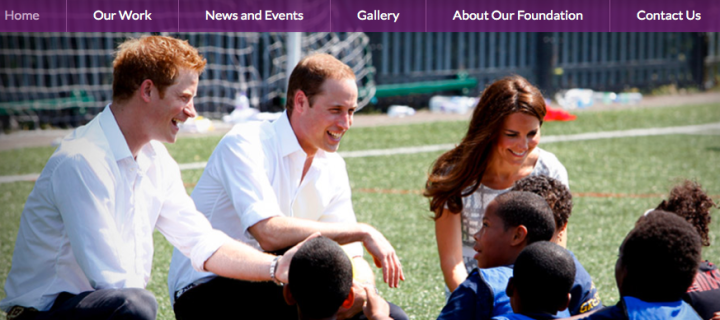 The Royal Foundation of the Duke and Duchess of Cambridge and Prince Harry