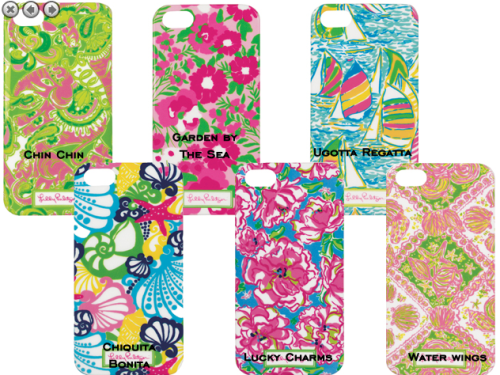 Lilly Pulitzer iPhone Cases at PreppyPrincess.com