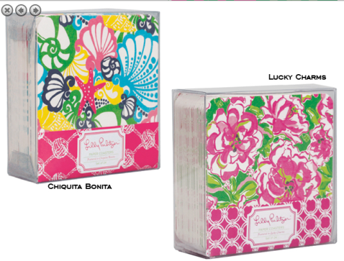 Lilly Pulitzer Coasters at PreppyPrincess.com