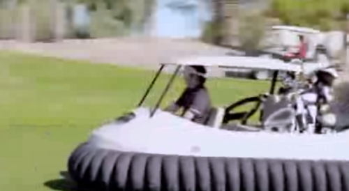Bubba Watson's Hovercraft
