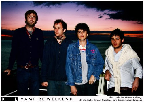 Vampire Weekend Facebook