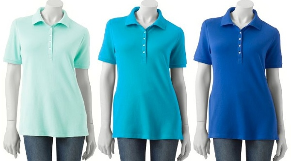 Croft & Barrow® Solid Pique Polo