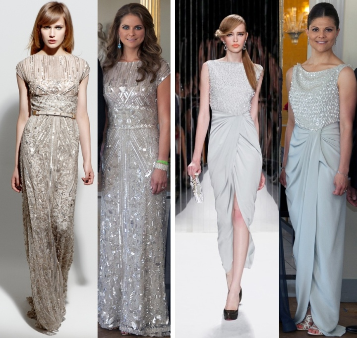 Elie Saab/Swedish Royal Court/Jenny Packham/Swedish Royal Court